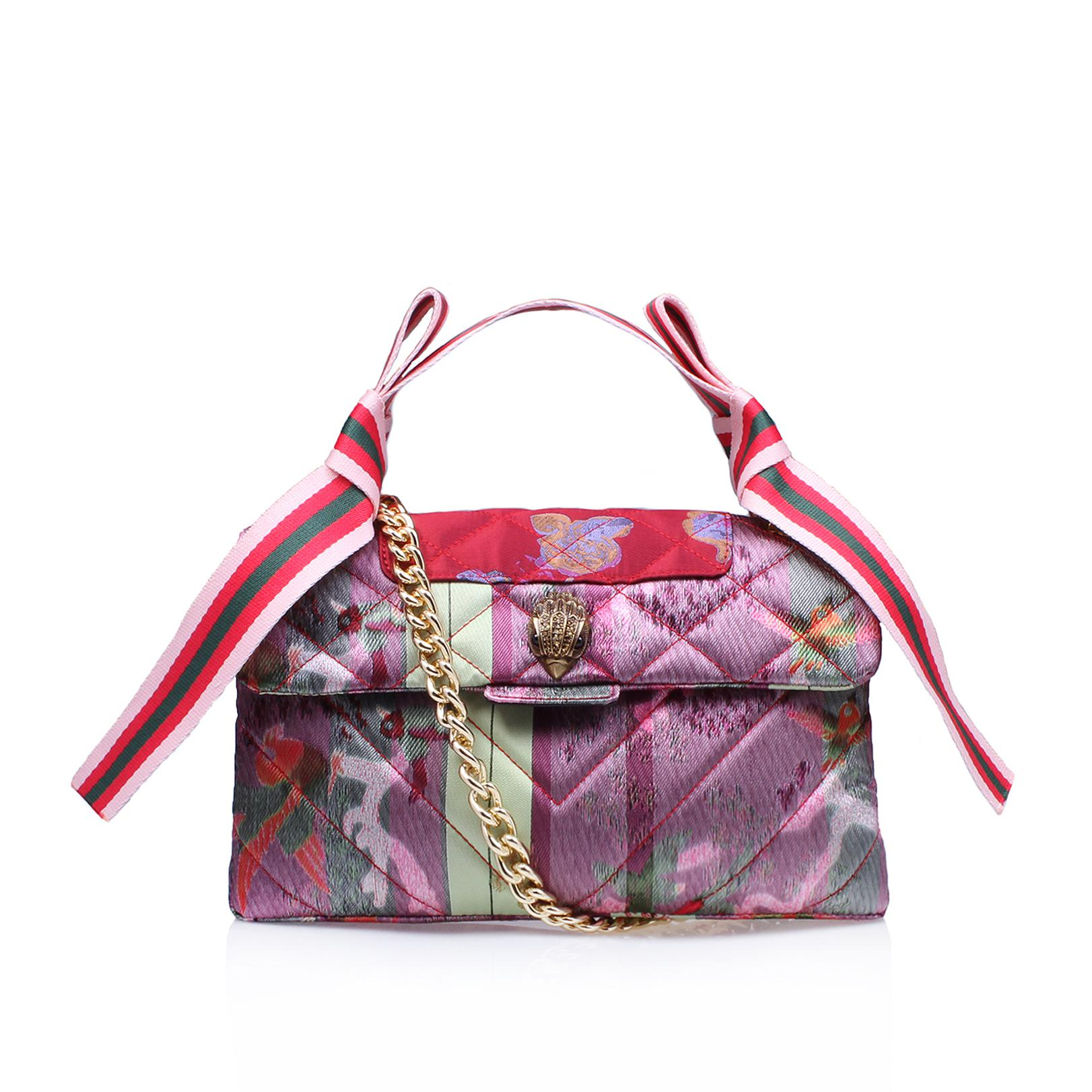 Kurt Geiger. Women s Fabric Kensington Bag In Fushia 0e15ee6084318