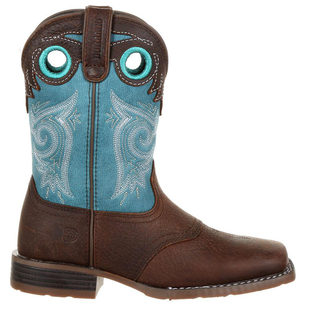 6d71db63cbc9 Durango - Brown Lil  Mustang Little Kids Western Saddle Boot for Men -  Lyst. View fullscreen