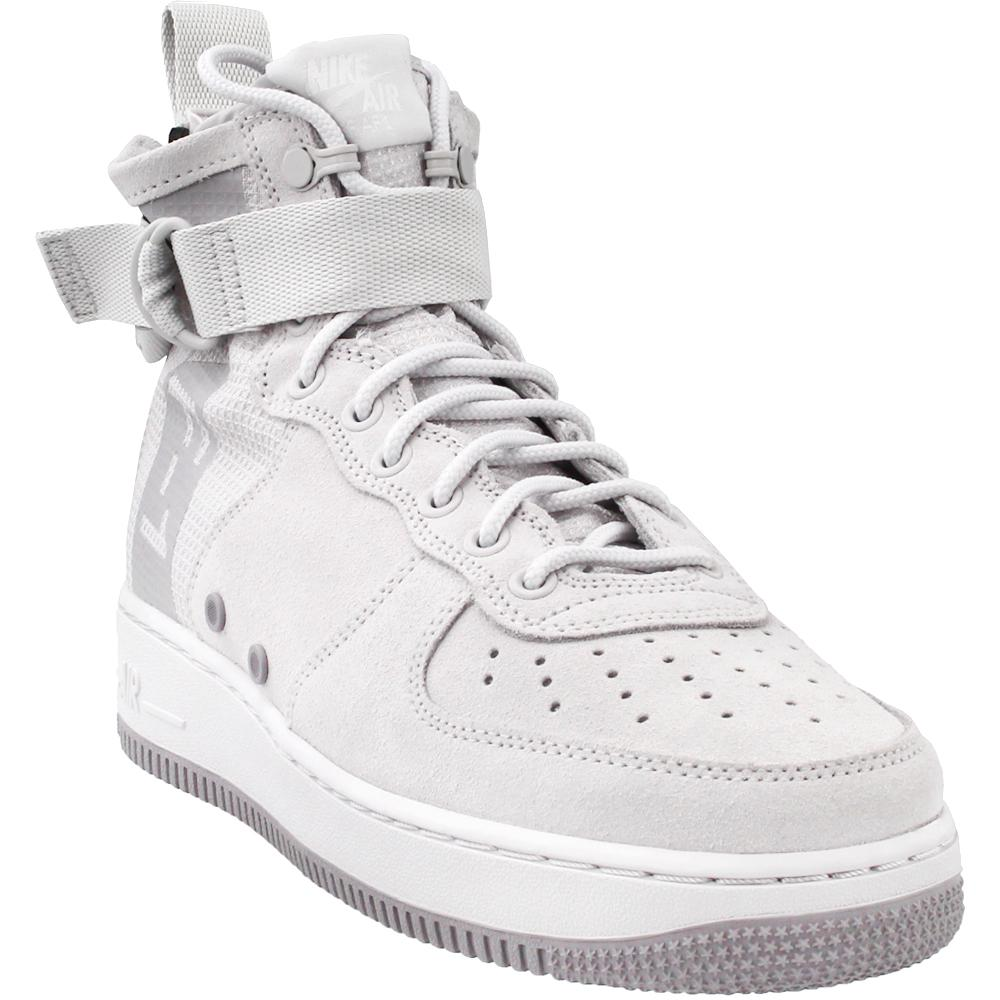 Lyst - Nike Sf Air Force 1 Mid in Gray for Men 2b6f7c1e73a5