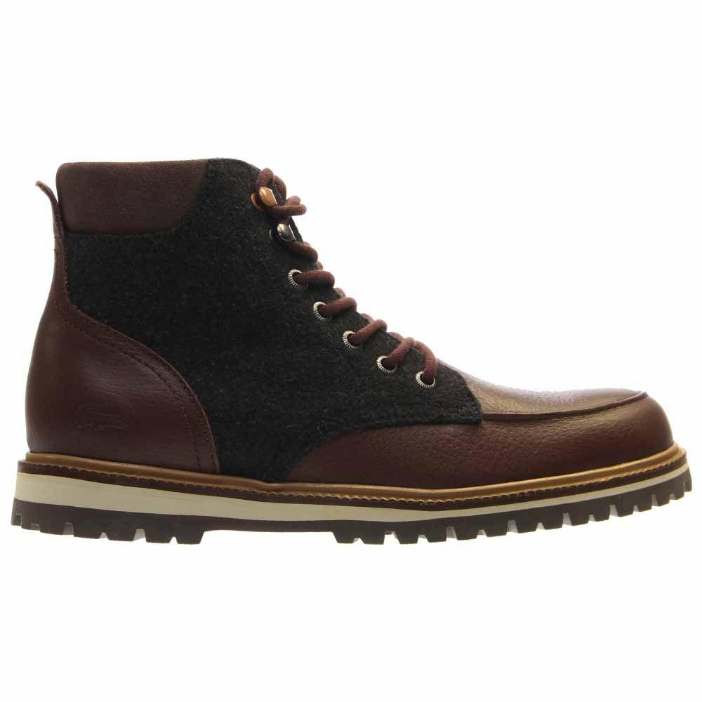 85886fdf0d8ea Lyst - Lacoste  s Montbard 316 2 Ankle Boots in Brown for Men
