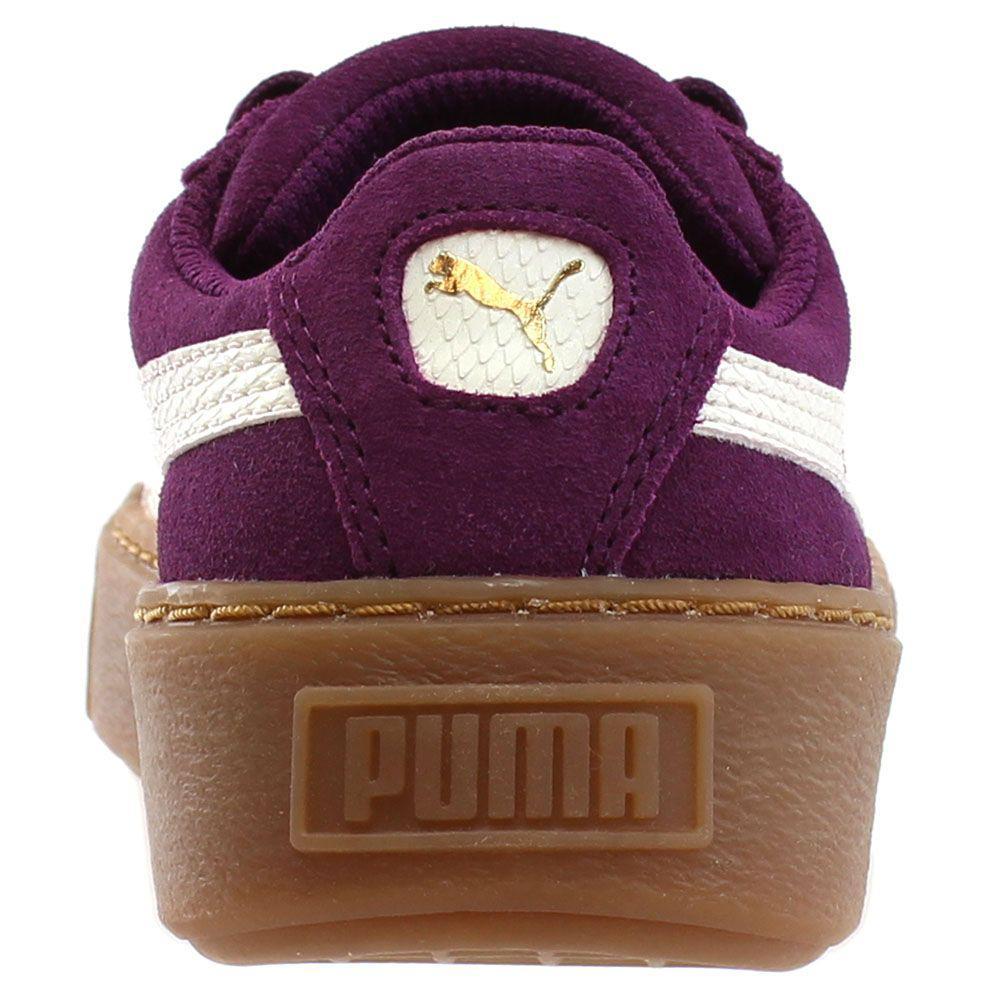 Lyst - PUMA Suede Platform Snake Preschool in Purple for Men 8371622bc