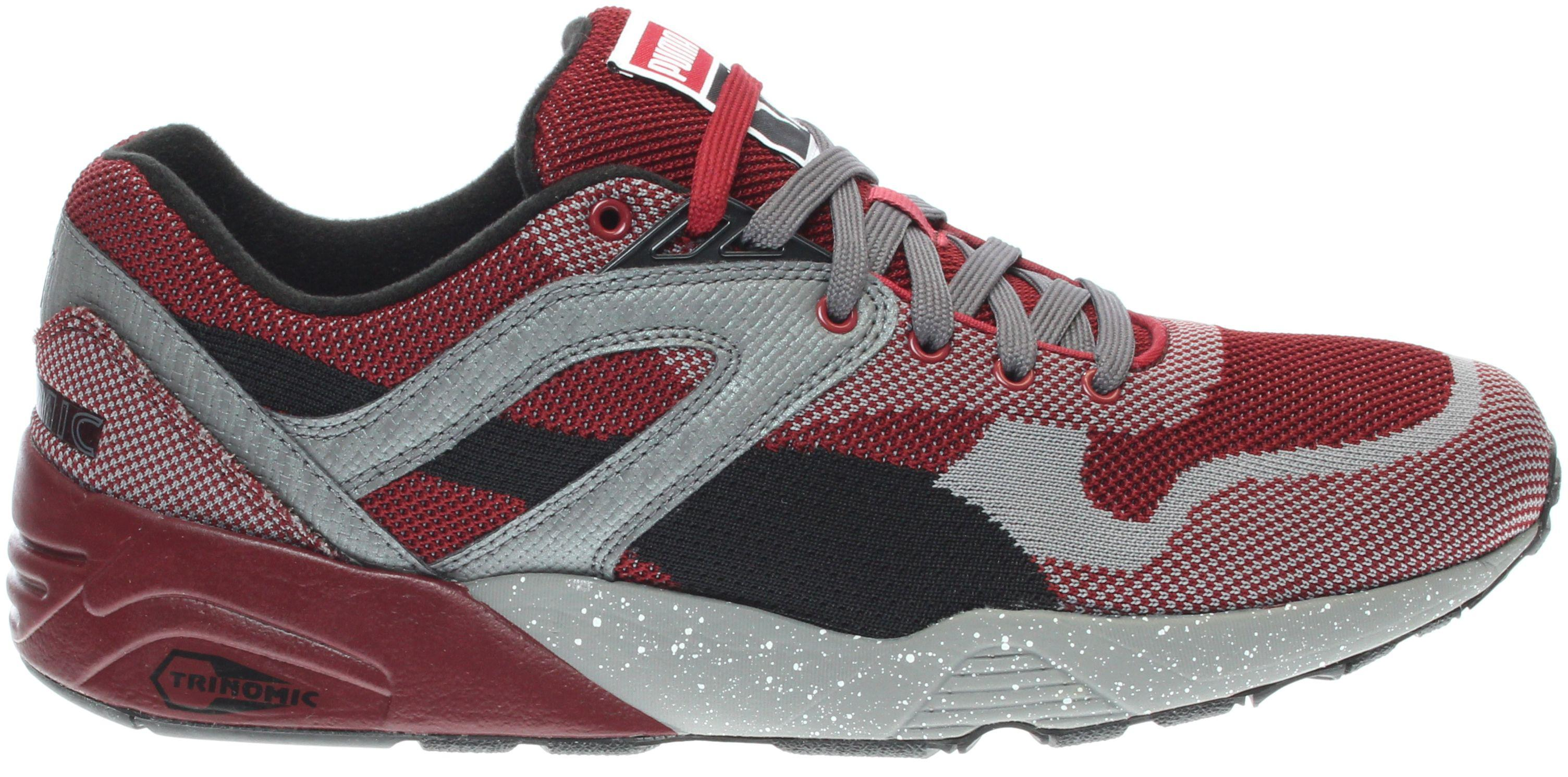 e96bc14bbde2 Lyst - PUMA R698 Knit Mesh Splatter in Red for Men