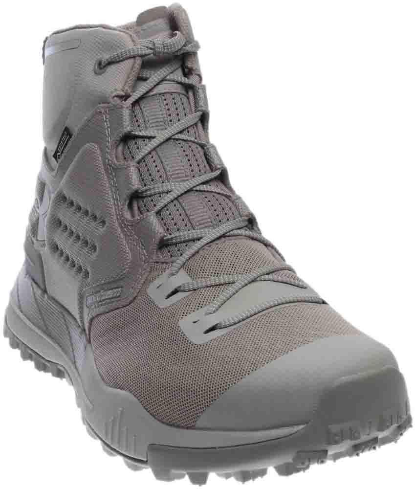 new style cfd51 c7689 Under Armour Newell Ridge Mid Gtx in Gray for Men - Lyst