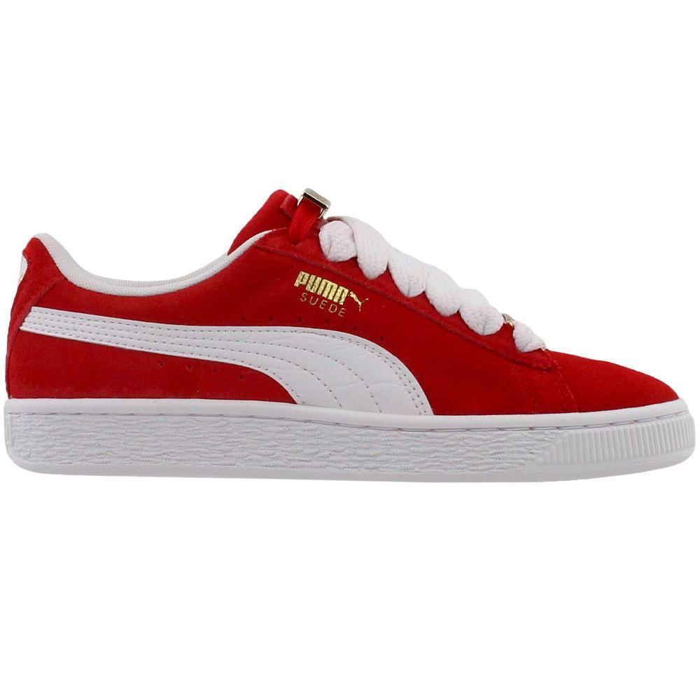 68939bfe68e4be PUMA - Red Suede Classic Bboy Fabulous Junior for Men - Lyst. View  fullscreen