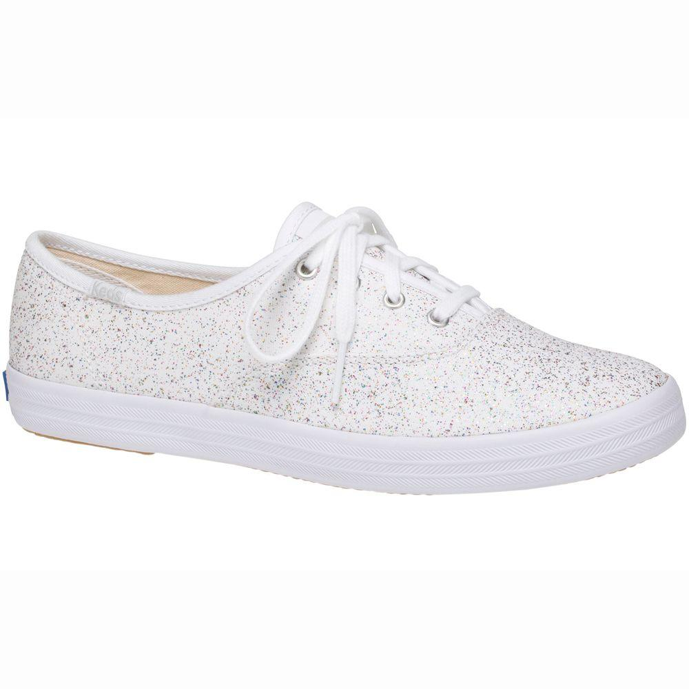 01ccf1cf440 Lyst - Keds Champion Starlight Canvas in White