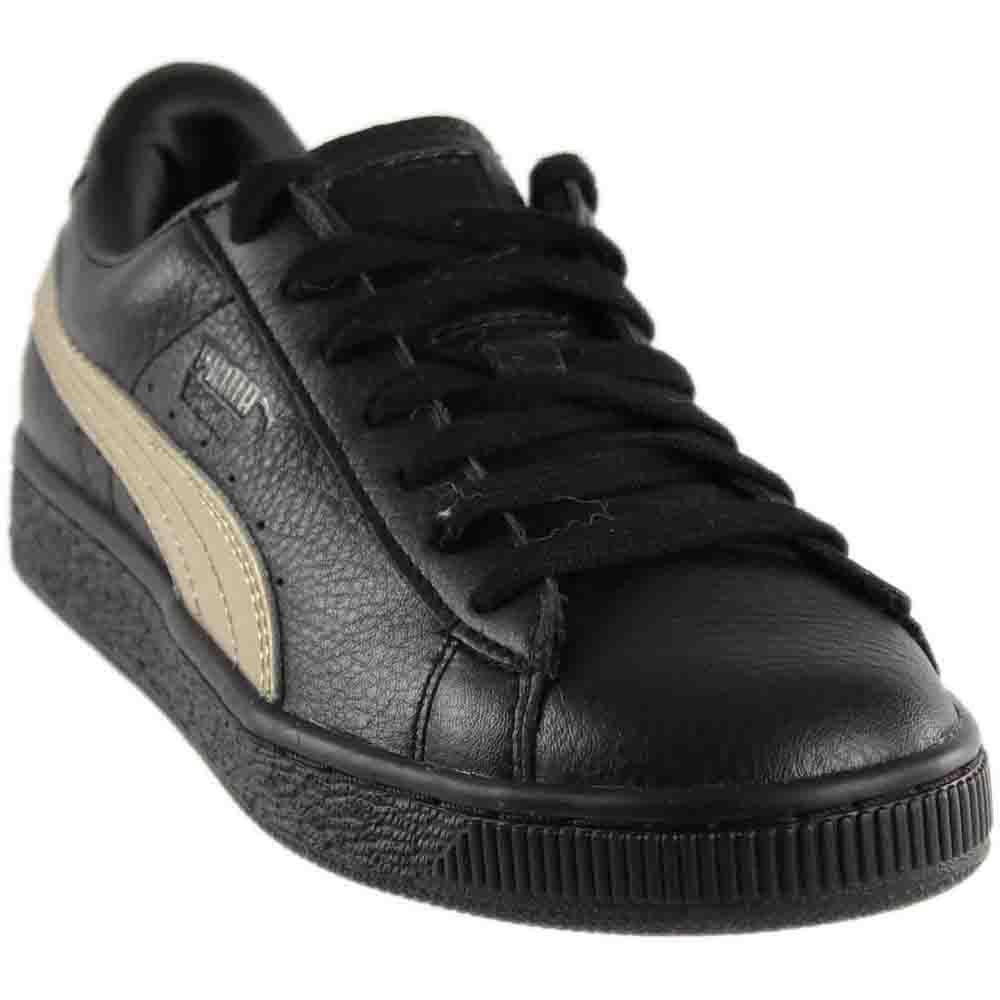 f09ae500a714 Lyst - PUMA Basket Classic Metallic Sn in Black for Men