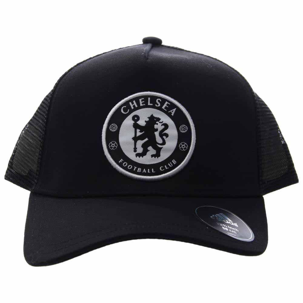 Lyst - adidas Chelsea Fc Trucker Cap in Black for Men 4ad280eb9f14