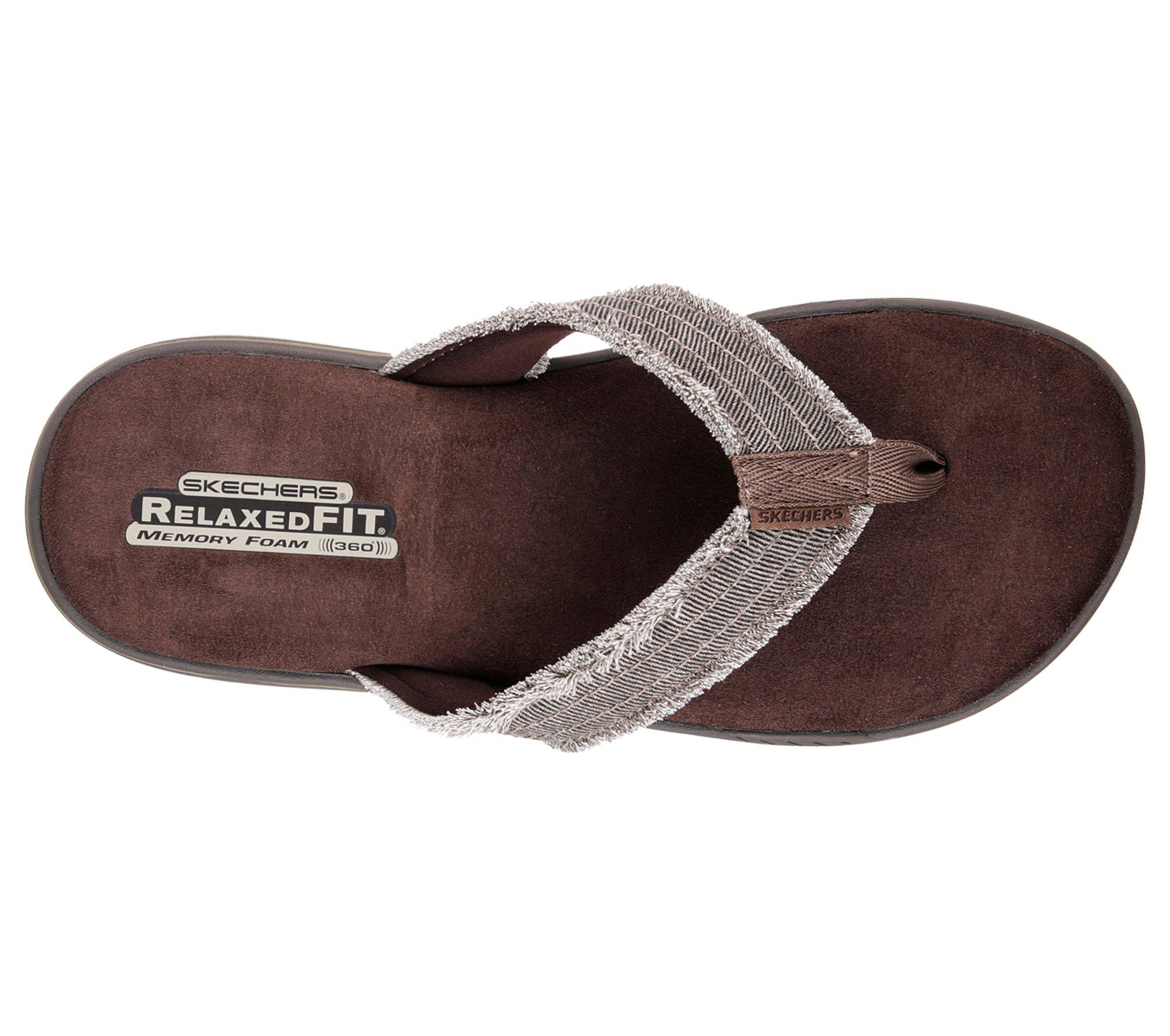 e270b70eec2e Skechers - Brown Relaxed Fit  Evented - Arven for Men - Lyst. View  fullscreen