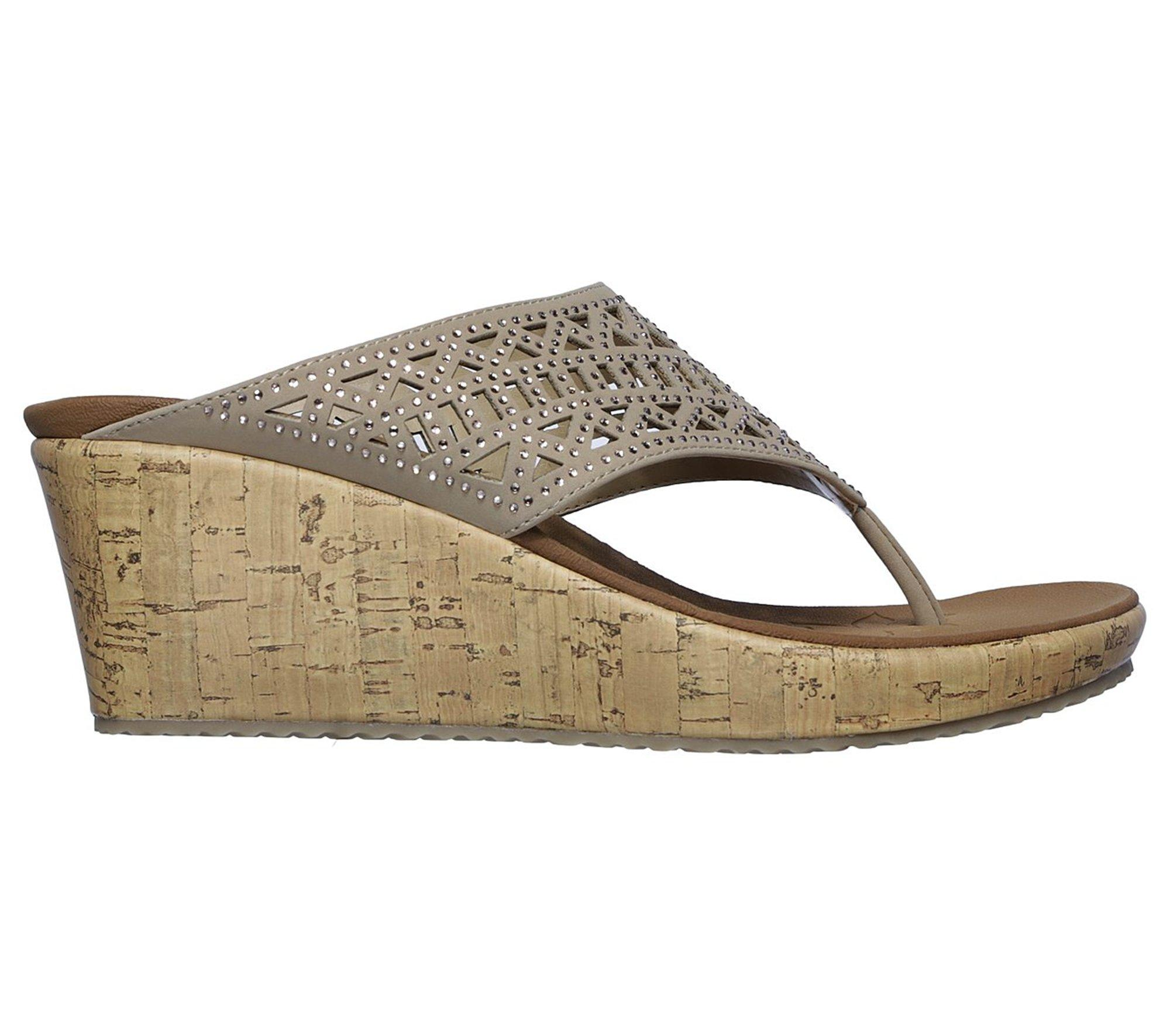 5bdccdf1aff Lyst - Skechers Beverlee - Summer Visit in Natural