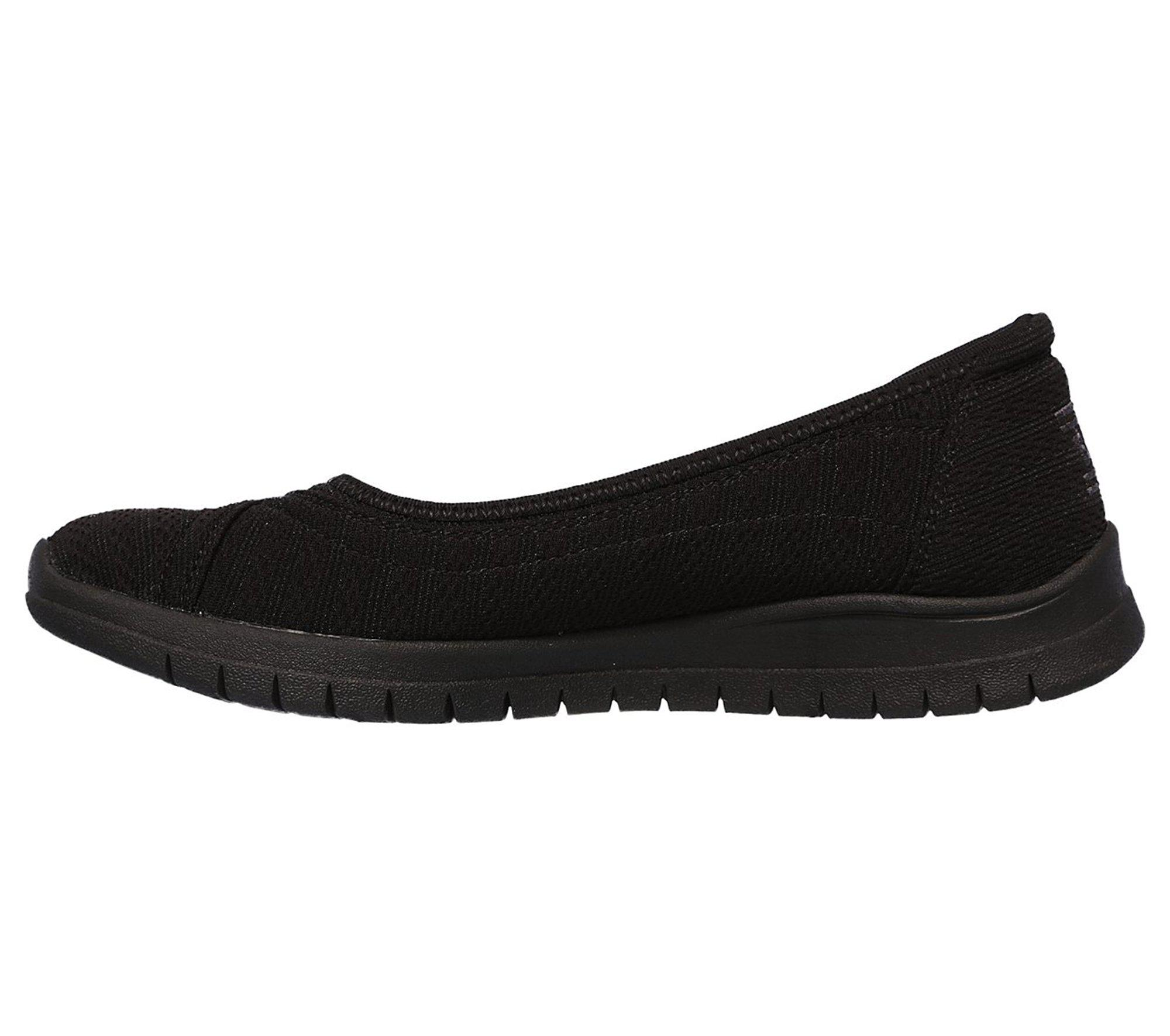 d3c3926f69eb Skechers - Black Bobs Pureflex 3 - Catch Em - Lyst. View fullscreen
