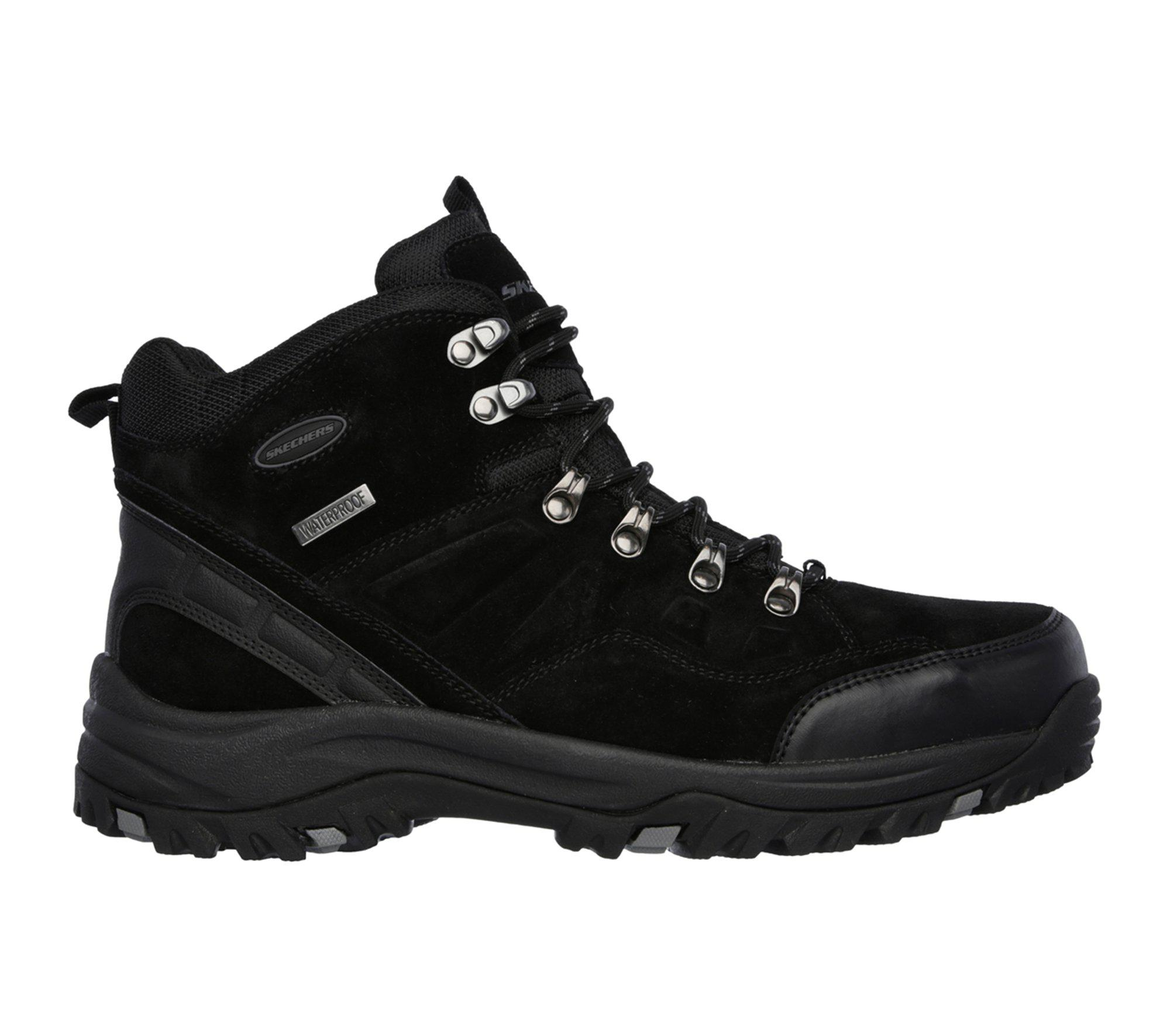 Lyst Men Pelmo Relaxed Skechers Black In For Relment Fit r78rwU