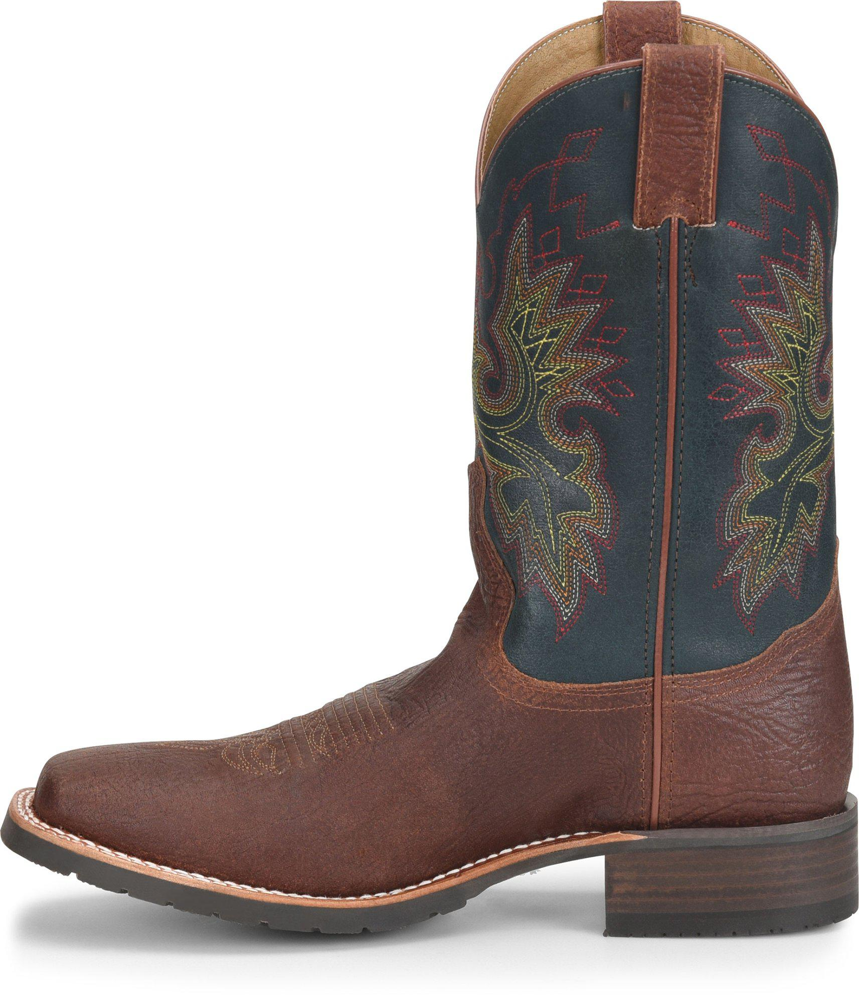 8ac397a21674 Lyst - Double H Boot 11 Wide Square Toe Roper in Brown for Men