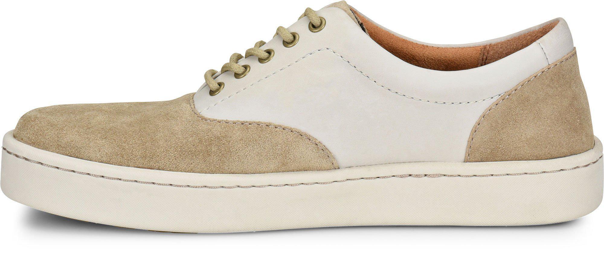 Born Keystone Sneaker(Men's) -Marmotta/Teak Combination Leather Outlet Wiki Sale Genuine qFqA02LKJ