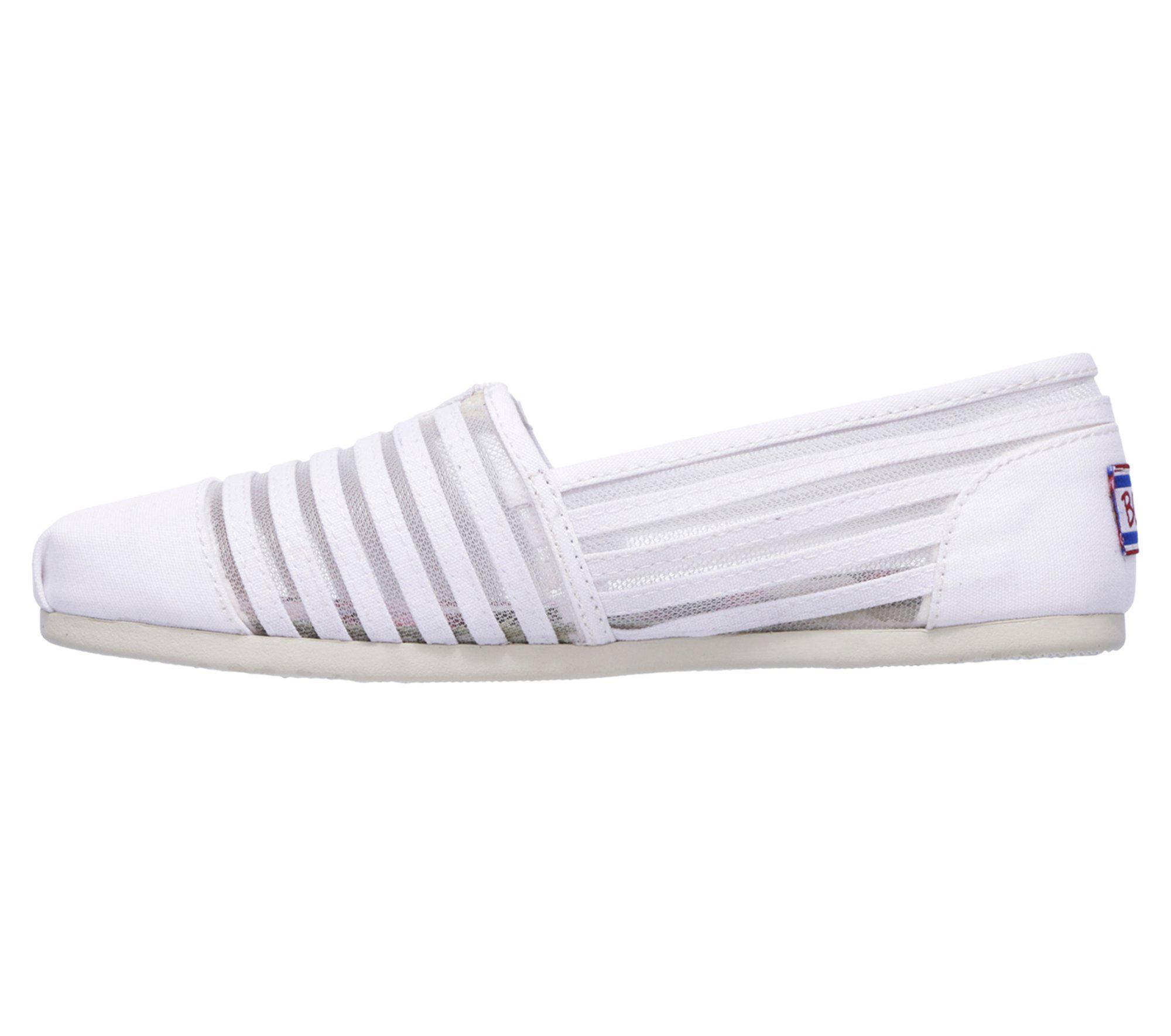 da3e86e501 Skechers - White Bobs Plush - Adorbs - Lyst. View fullscreen