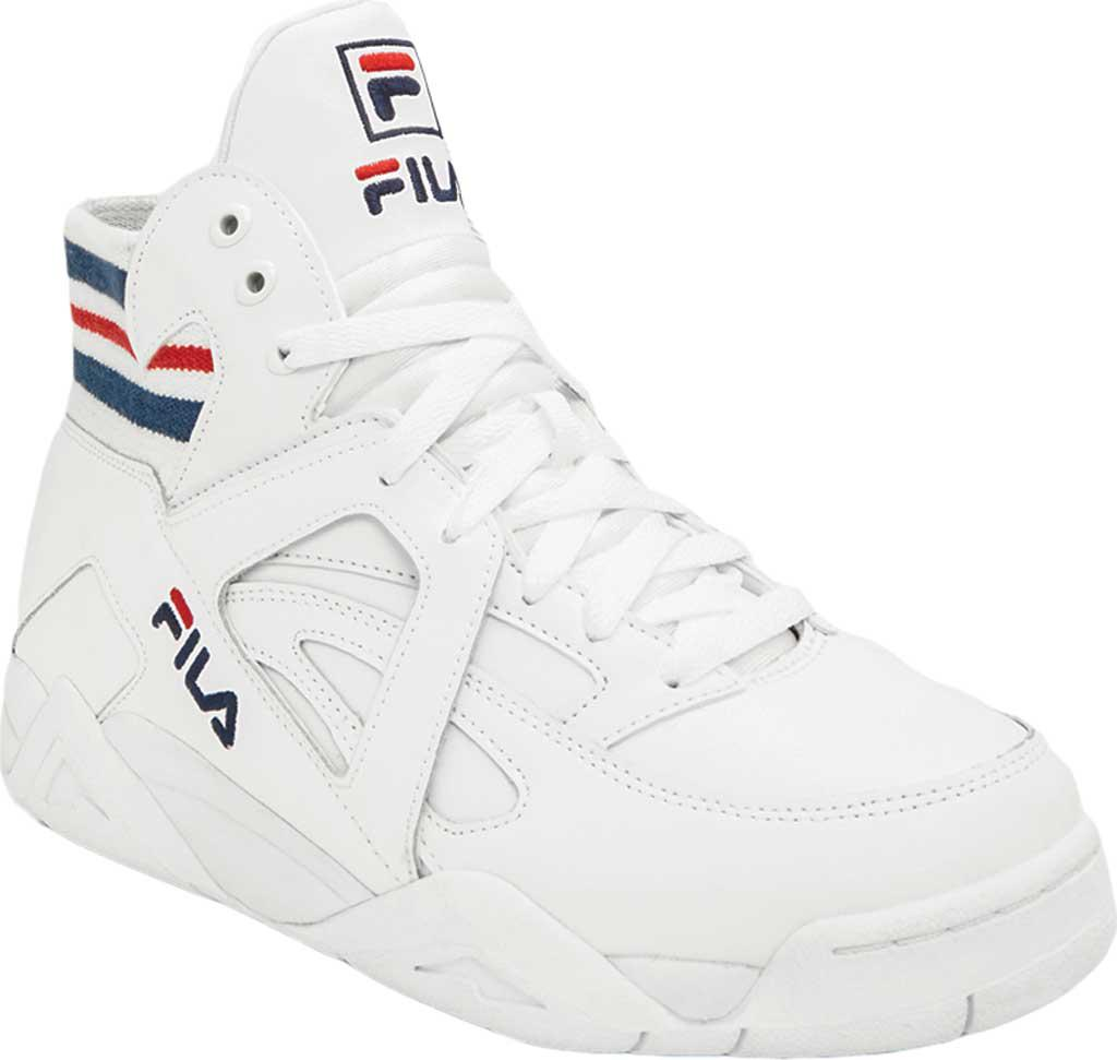 20f926870fda Lyst - Fila The Cage High Top in White for Men