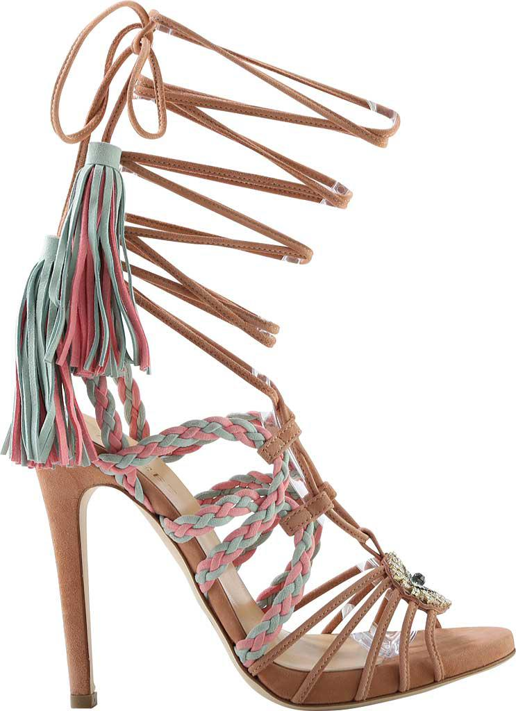 Gedebe Corrinne Suede Stiletto Heel Tassel Sandal (Women's) RyHsS