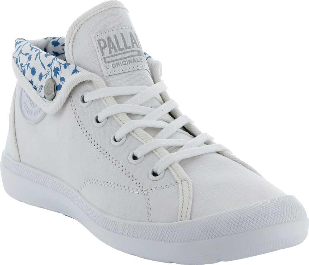 Palladium Aventure CVS High Top Sneaker(Women's) -White/White Canvas Outlet Order Online Discount Release Dates High Quality Sale Online eaI5o