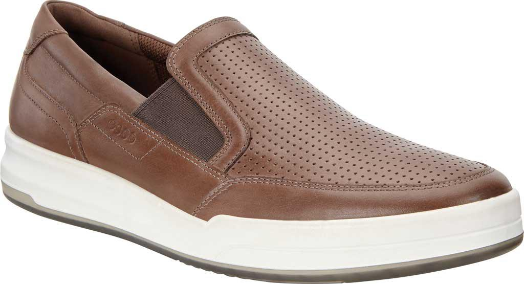 ECCO Jack Sport Slip On Sneaker(Men's) -Titanium Cow Leather Buy Cheap Latest Collections RFFD2TzO