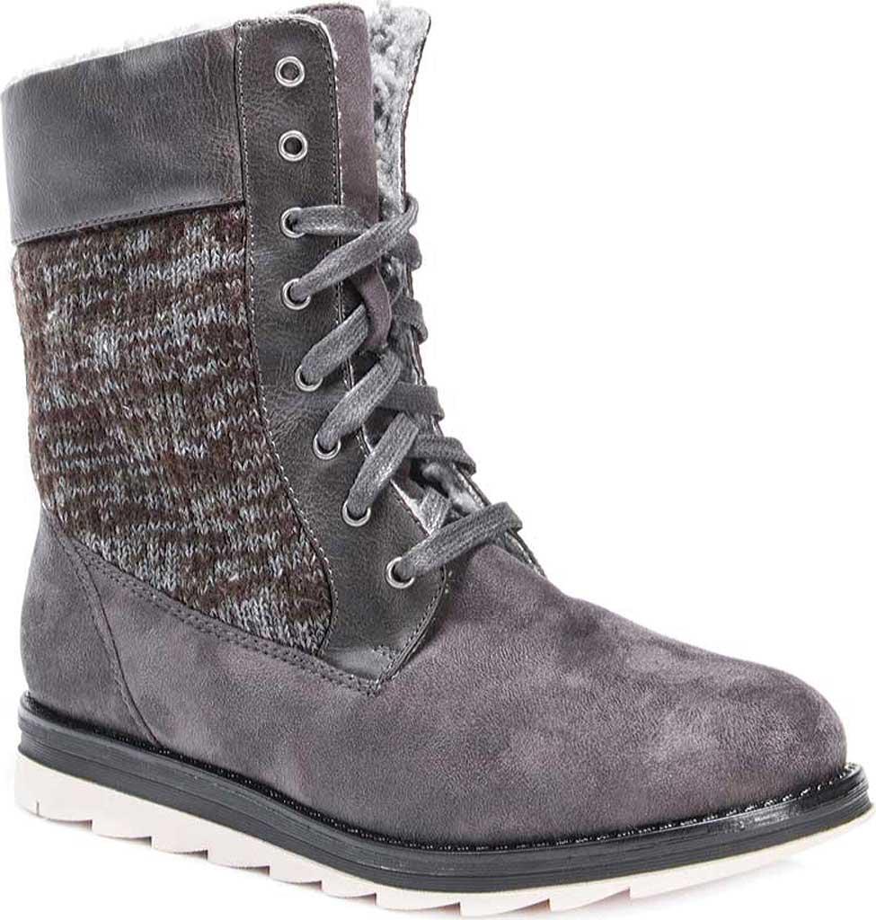 MUK LUKS Muk Luks WoMen Christy Fashion Boot Grey On Sales