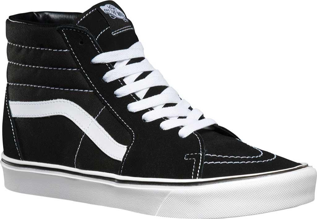 Lyst - Vans Sk8-hi Lite (suede  Canvas) Black white in Black for Men ... 9e4afedb7
