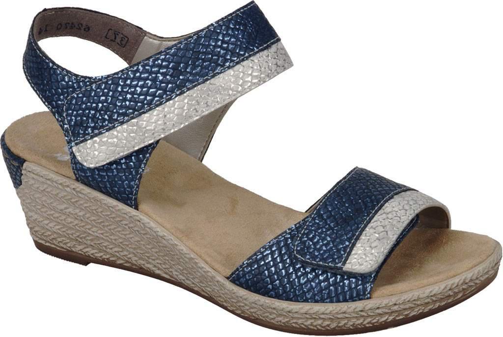 Rieker-Antistress Fanni 22 T Strap Sandal(Women's) -Lightgold/Grey Synthetic Clearance 2018 New Buy Online Popular AfYdBat