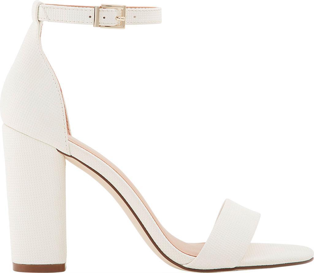 e7612c067e Call It Spring - White Tayvia Block Heel Ankle Strap Sandal - Lyst. View  fullscreen