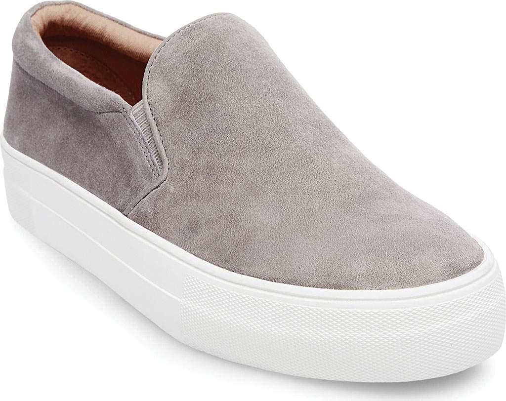 195396318228 Lyst - Steve Madden Gills Platform Slip-on Sneaker in Gray
