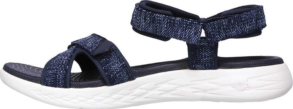 2e1cfda8f08e Lyst - Skechers On The Go 600 Radiant Ankle Strap Sandal in Blue