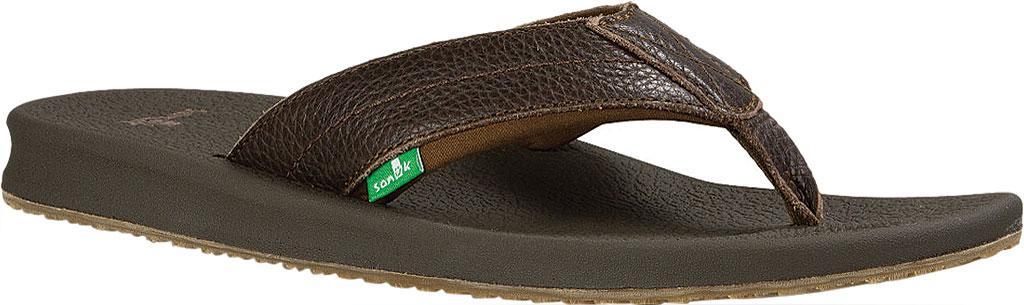 20366d4bf2d8 Lyst - Sanuk Brumeister Primo Thong Sandal in Brown for Men