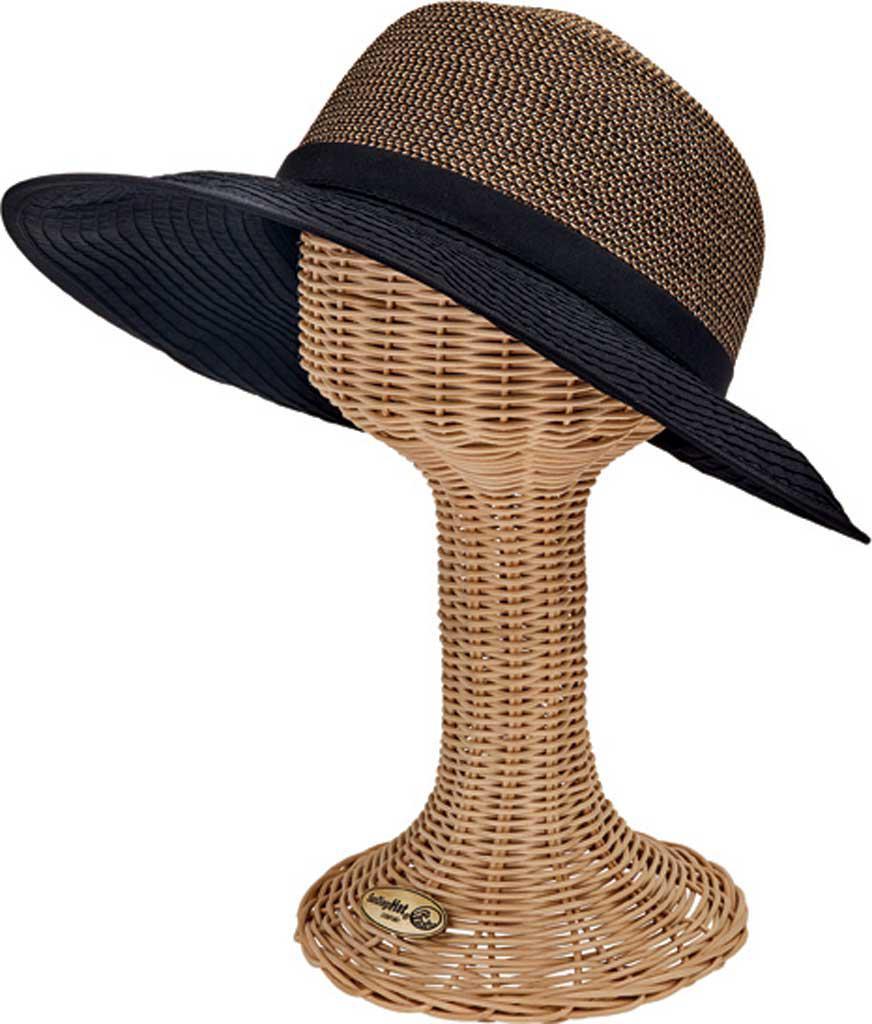 1522abc3f1ed6 Lyst - San Diego Hat Company Colorblock Face Saver Wide Brim Hat Pbl3094