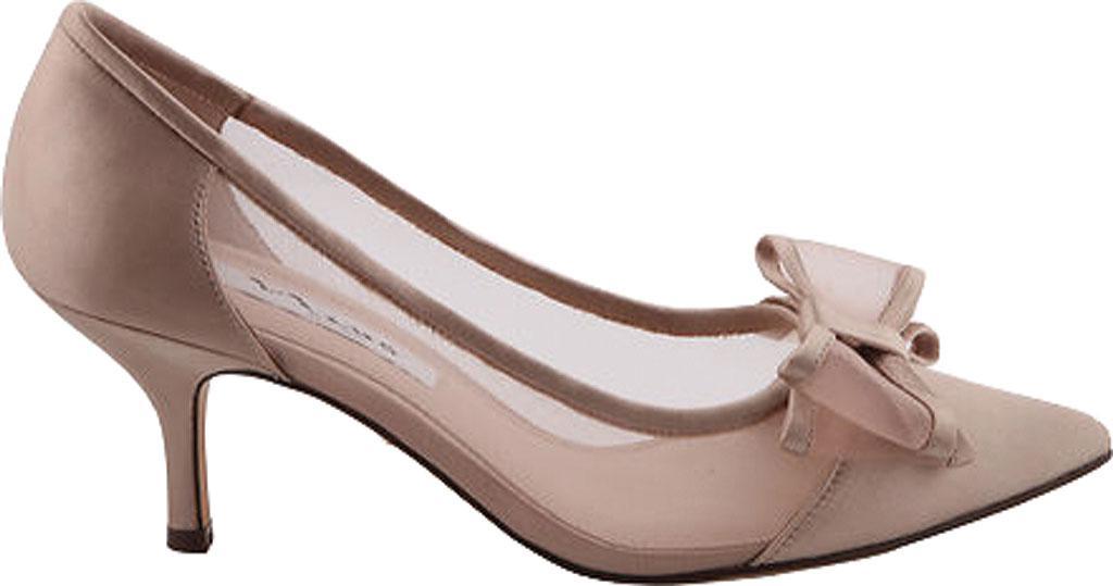 18ce575f2a486 Lyst - Nina Bianca Kitten Heel Pump in Brown