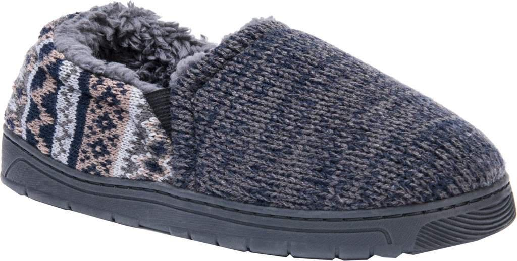 Newest Sale Online MUK LUKS Christopher Slipper(Men's) -Navy/Grey/Marl Acrylic Cheap Popular Discount Online Official Site Pay With Paypal Cheap Price OkcskpdC