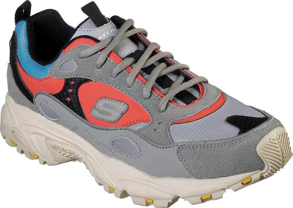 15eb796e80cd Lyst - Skechers Stamina Contic Trainer in Gray for Men