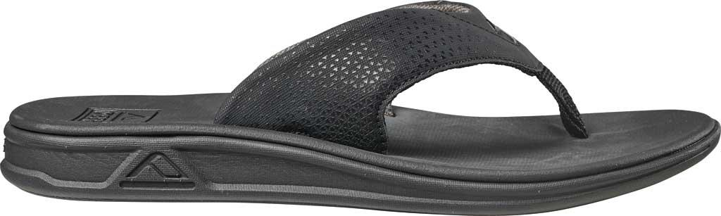 f5b476b323a2 Reef - Black Rover Thong Sandal for Men - Lyst. View fullscreen