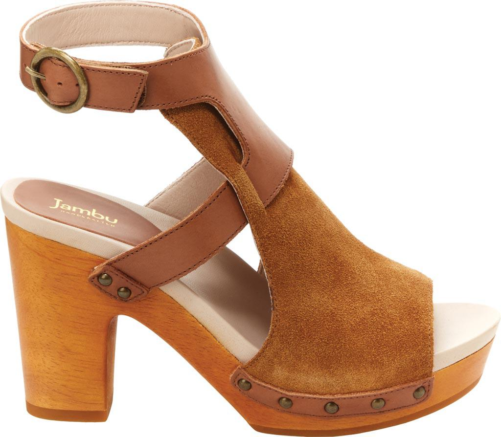 8789de0b125 Lyst - Jambu Gina Ankle Strap Platform Sandal in Brown - Save 22%