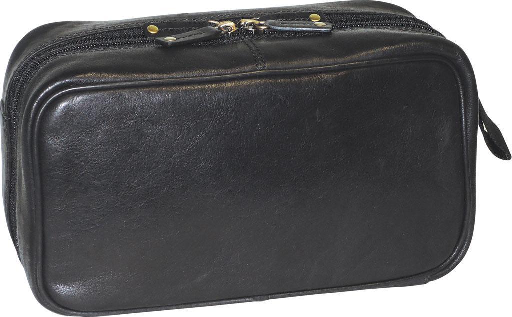Lyst - Dopp Carson Double Zip Travel Kit in Black d3ffbf666d