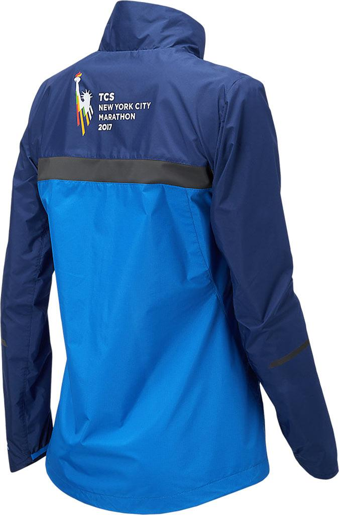 25ffb6807 Lyst - New Balance Wj73210v Nyc Marathon Jacket in Blue