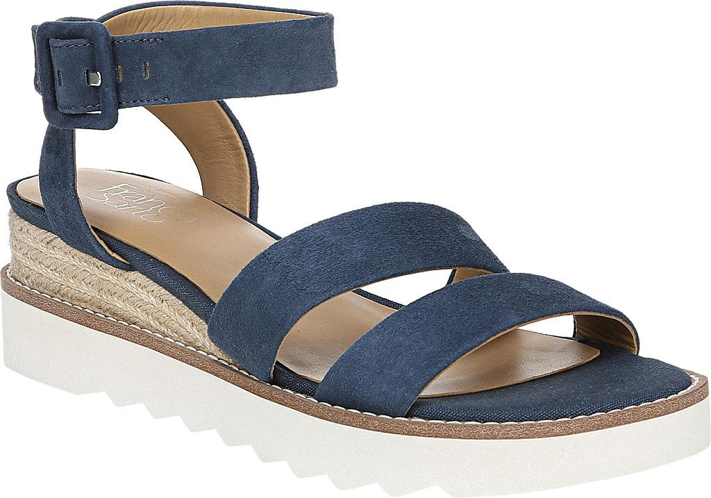99e83ed08354 Lyst - Franco Sarto Connolly Espadrille Wedge Sandal in Blue - Save 1%