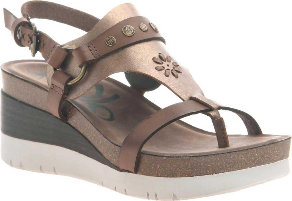 65ae2cd048c Lyst - Otbt Maverick Wedge Sandal in Brown