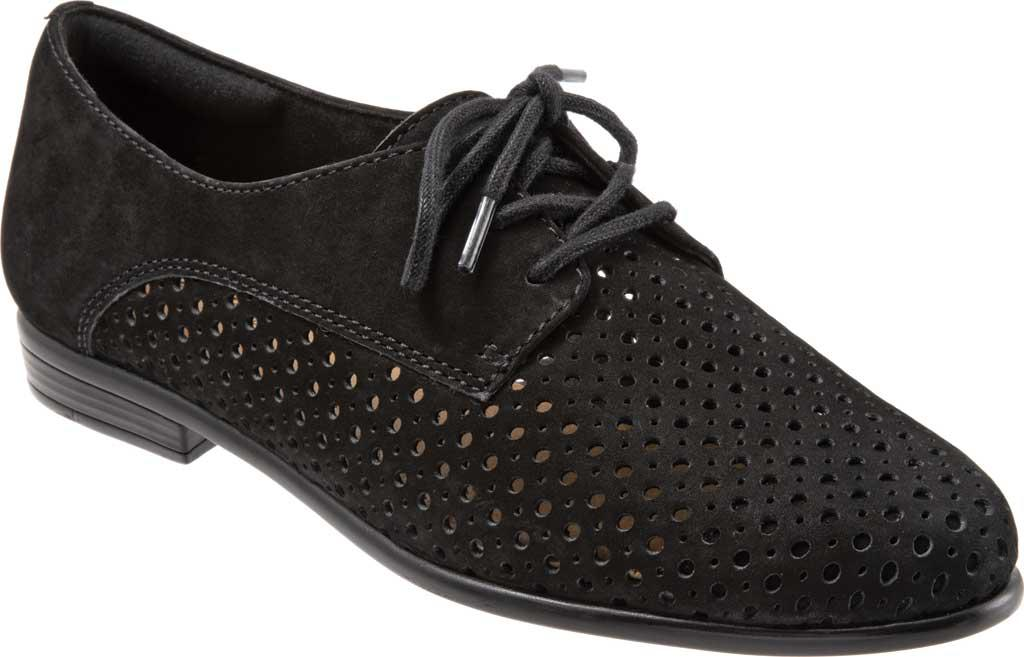 c955037fee1 Lyst - Trotters Lizzie Perf Oxford in Black