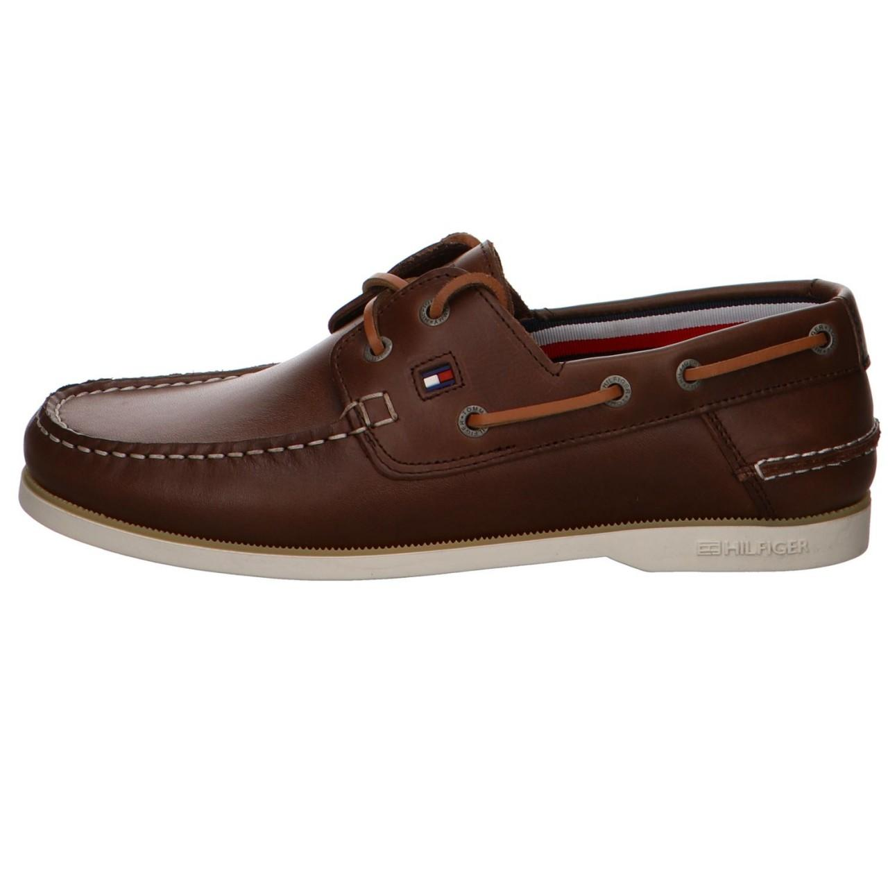 285cd1150b38bb Tommy Hilfiger - Formal Shoes Brown for Men - Lyst. View fullscreen