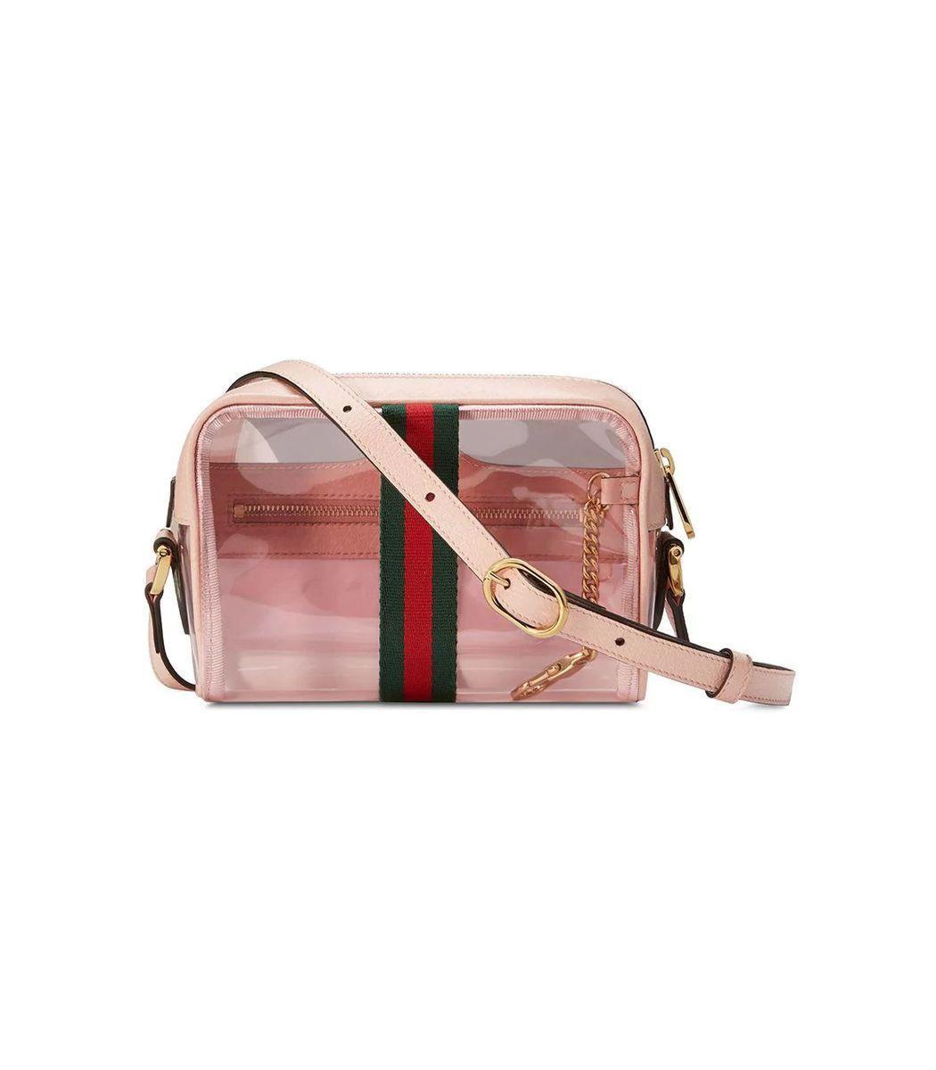 f506d6d2cde2 Gucci - Natural Ophidia Mini Transparent Bag - Lyst. View fullscreen