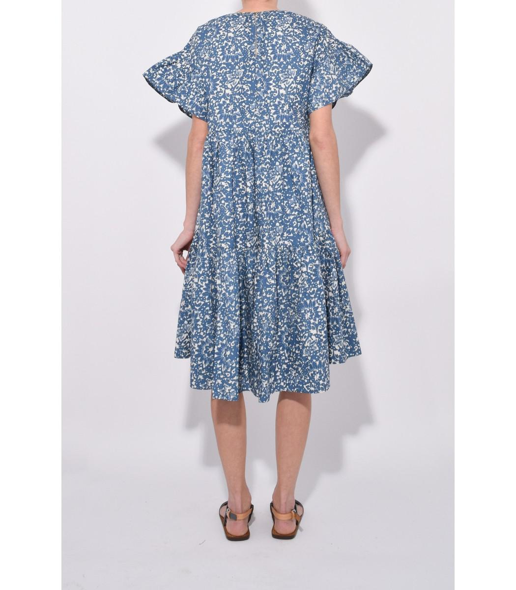 f7aedee4cf2 Ulla Johnson Rosemarie Dress In Indigo Batik in Blue - Lyst