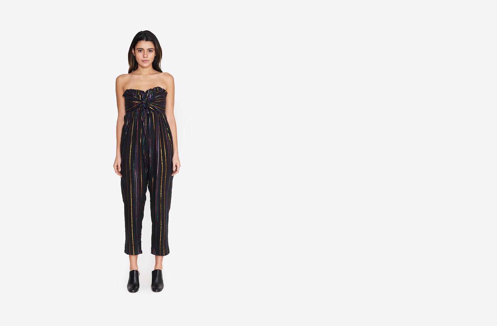 8a1d537b918 Lyst - Apiece Apart Gipsea Jumpsuit in Black