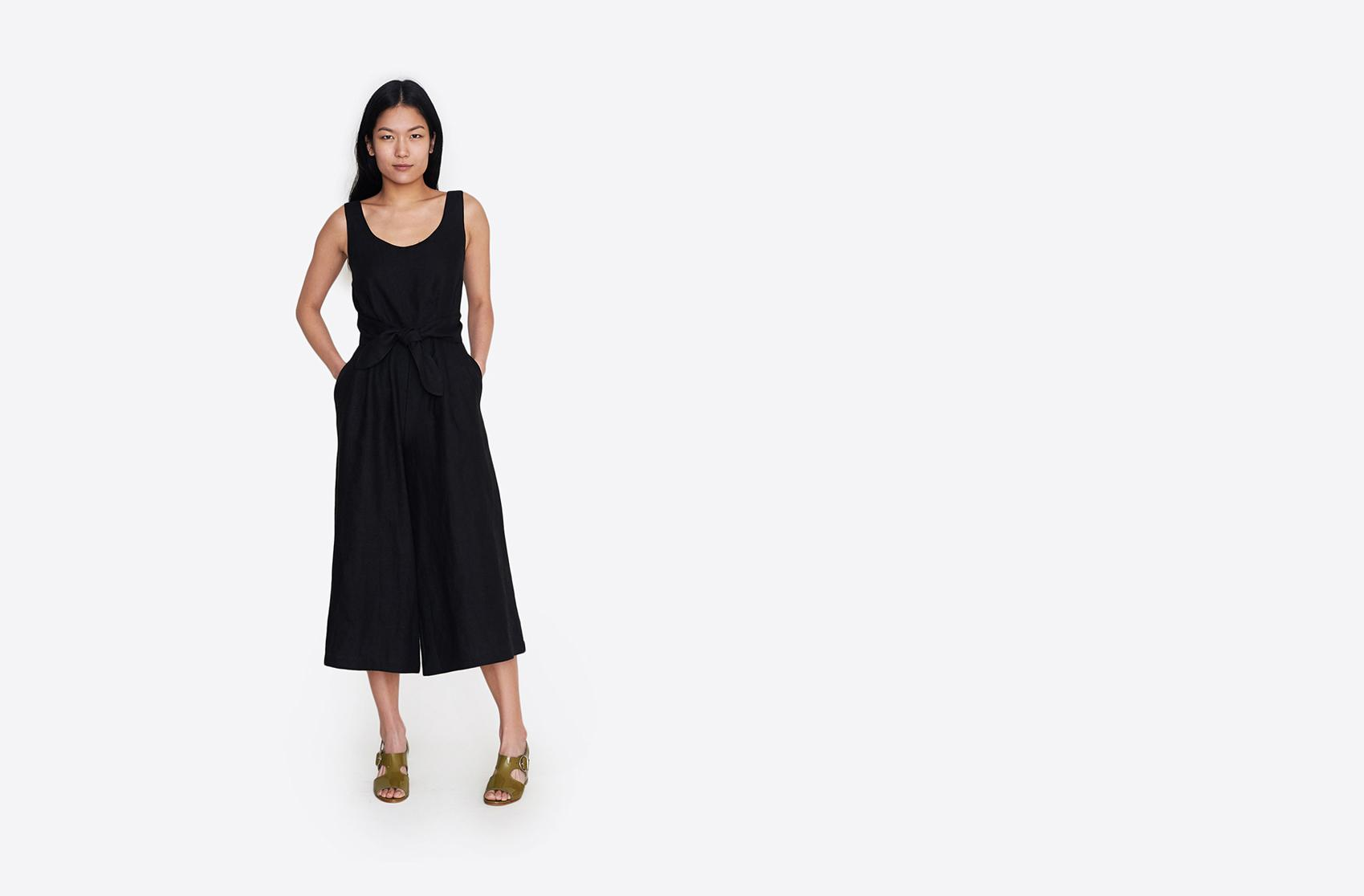 23ff18f815f0 Lyst - No. 6 Alice Jumpsuit in Black