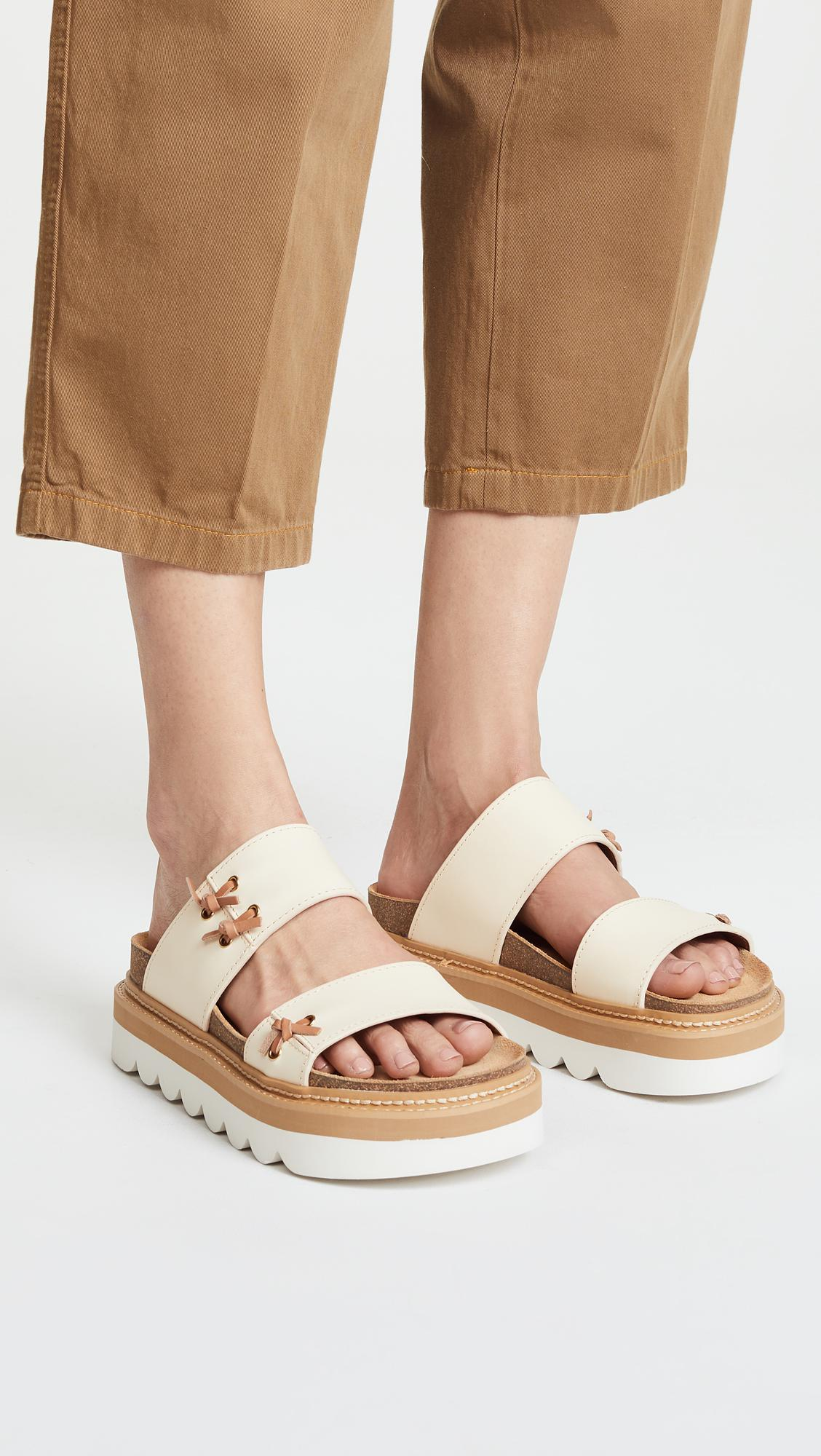 Chloé Platform Slide Sandals w/ Tags browse purchase for sale sneakernews online buy cheap official 2a5AawXiyO