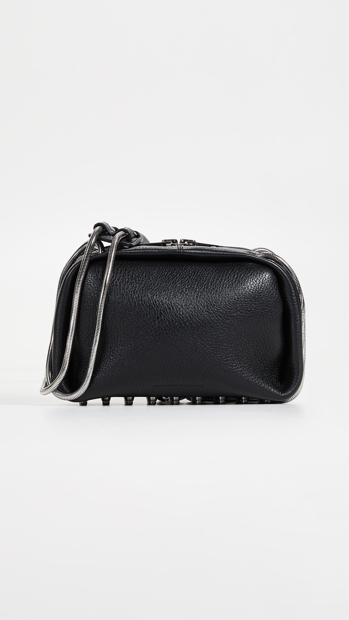 Alexander Wang Black Dumbo shoulder bag XqAiyEn75f