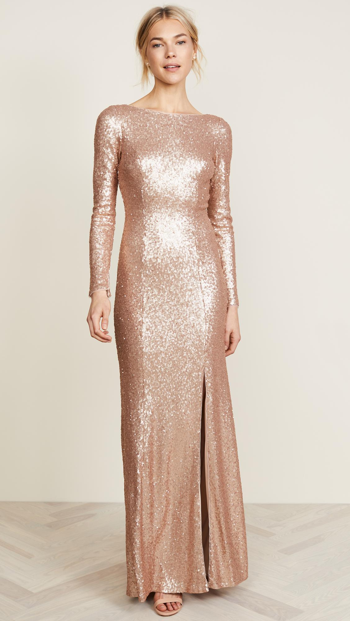 Amazing Theia Harlow Sequin Gown Photos - Wedding and flowers ...