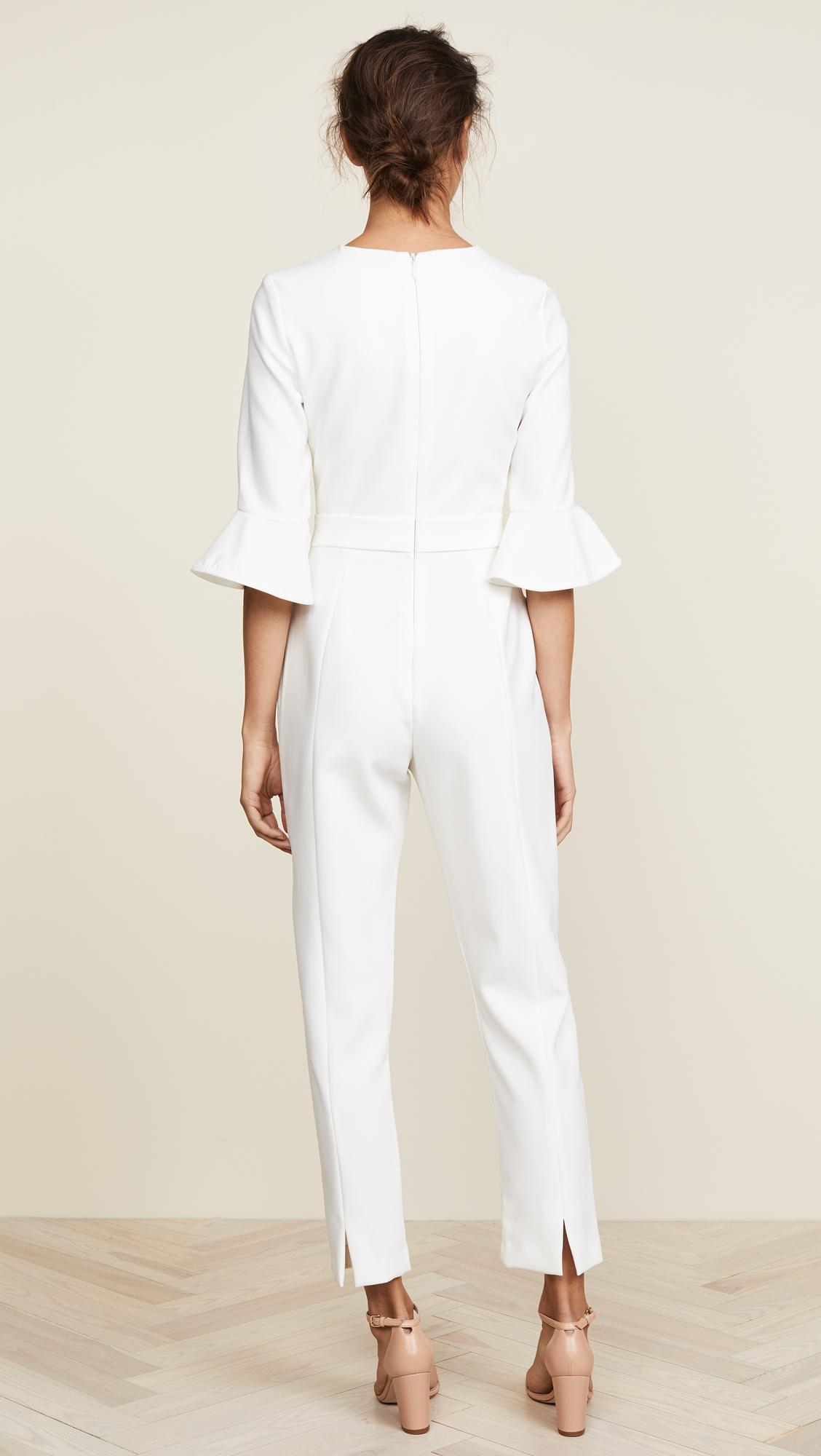 0ae9d5bb17a9 ... White Brooklyn Jumpsuit - Lyst. View fullscreen