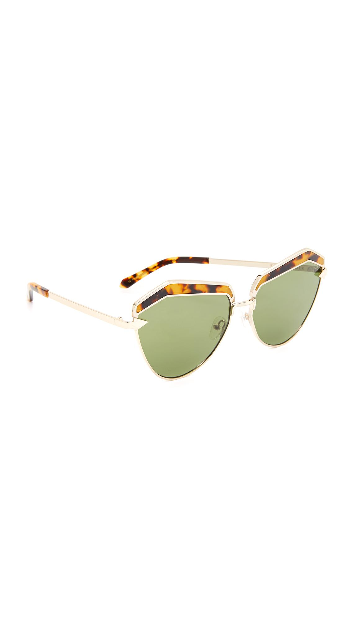 6d33efa2f751 Lyst - Karen Walker Jacinto Sunglasses
